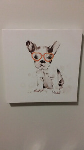 Super cute Doggie canvas