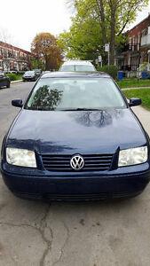 2001 VW Jetta GLS Berline