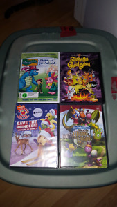Kids dvds and ds games