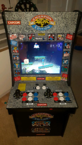 Arcade 1up modified with Raspberry Pi