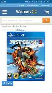 WANTED PS4 --- Just cause 3