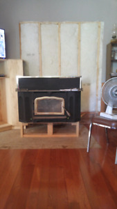 Heritage Wood fireplace insert