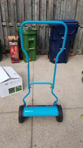 Gardena Hand Reel Mower 380 - used for 2.5 years about 15 times!