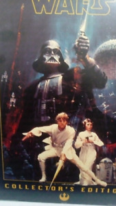 Rare Star Wars Movie Poster Size, Mounted on MDF