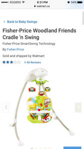 Fisherprice swing
