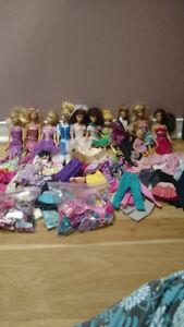 Barbie avec accessoires