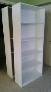 BIG BOOKCASE $45 FOR PAIR