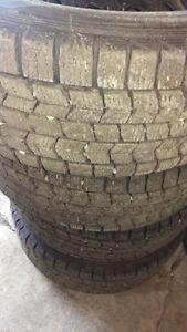 Dunlop graspic winter tires
