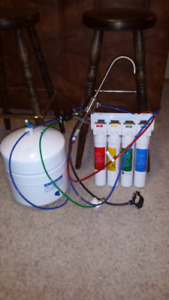Osmosis water system