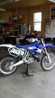 "YAMAHA YZ 125cc "" bored to Eric gorrs 144cc "" , VERY LOW HOURS ."