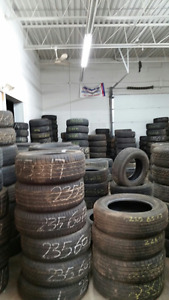 THE BEST PRICES ON USED TIRES