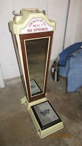 1950S WATLING 10 CENT WEIGHT SCALE