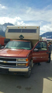 Truck and Camper Combo / Alberta Registered
