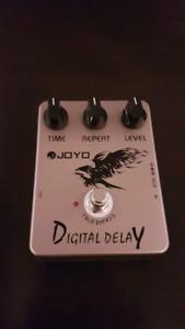 Joyo digital delay guitar effect pedal
