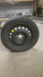 4 winter tires.  225 45r17