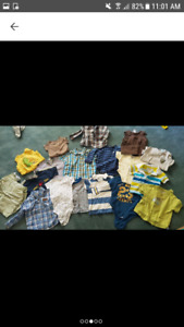 Tshirt lot size 6 months to 9 months