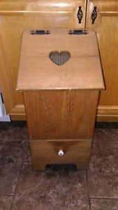 Solid Wood Potato Bin