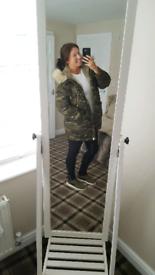 caebf003 Zara coat | Women's Coats & Jackets for Sale - Gumtree