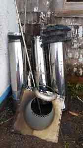 oil stove flue