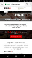 Simple, Joint or Uncontested Divorce Application $99.95