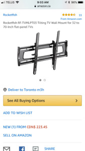 Rocketfish  Tilting TV Wall Mount for 32 to 70""