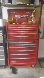Great condition master craft tool box