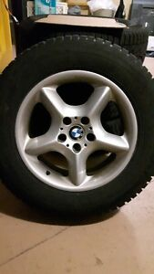 BMW X3 / X5 Rims With Winter Tires (only used one winter)