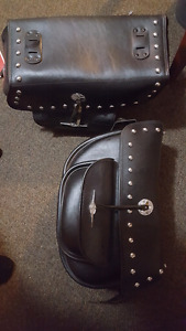 Motorcycle Saddle Bags (LGE)