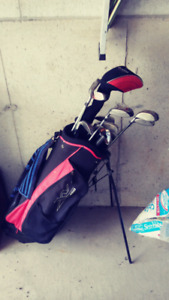Golf Clubs w/Bag