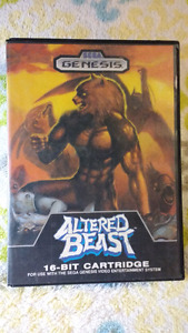 Altered Beast for the Sega Genesis Complete In Box