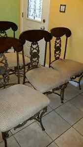 Antique set of 4 chairs London Ontario image 6