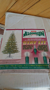 6.5' Pre-lit Artificial Christmas Tree - make an offer!!
