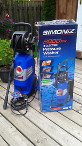 Simoniz 2000 PSI power washer