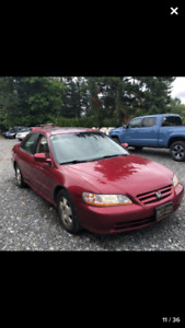 2001 Honda Accord EX-L Leather, 1 OWNER, Automatic, Excellent!!!