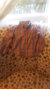 Long Sleeve Ralph Lauren Shirt for boys 2T