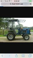 Ford 1220 tractor cab wanted !