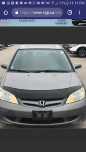 2005 Honda civic bug deflector