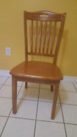 Solid Wood Chair caramel color