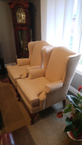 Wing chairs for sale