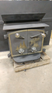 Fisher woodstove fireplace insert
