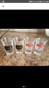 Vintage Vodka Shooter Glasses