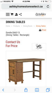 Signature Series Kitchen Island Counter Table
