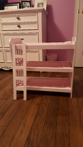 Doll Bunk Bed & Armoire
