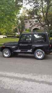 1994 jeep yj part out