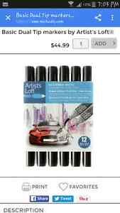 Professional Artist Quality Markers London Ontario image 1