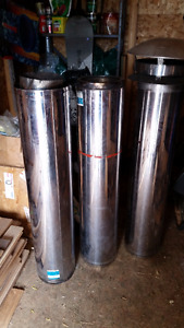 Insulated Wood Stove Flue