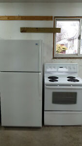 Fridge and Stove - $500 for Both