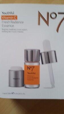 No7 Youthful Vitamin C Fresh Radiance Essence 10ml