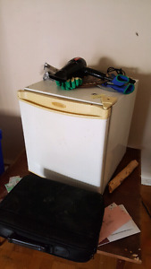 Small mini fridge