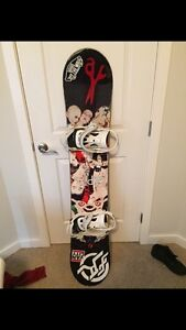 """CAPITA 156"""" SNOWBOARD *includes everything*"""